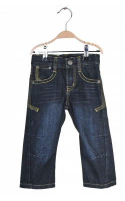 Jeans Peanuts by Cubus, talie ajustabila, 18 luni