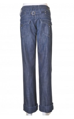 Blugi drepti Pepe Jeans, wide leg, marime 40