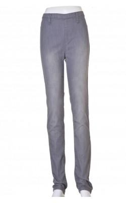 Jeans skinny Pieces, fermoar spate. marime 36