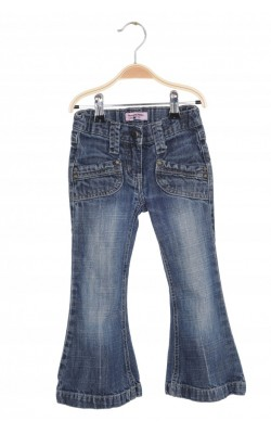 Jeans flare Pretty Sille, talie ajustabila, 3-4 ani
