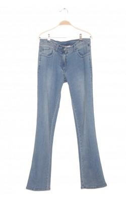 Jeans Reject, talie ajustabila, 14-15 ani
