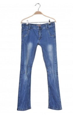 Jeans slim leg Name It, talie ajustabila, 11-12 ani