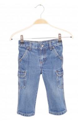 Jeans cargo Sonoma, talie ajustabila, 18 luni