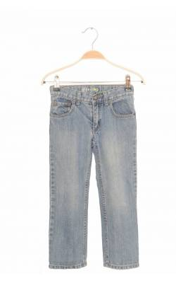 Jeans straight Greendog, talie ajustabila, 5 ani