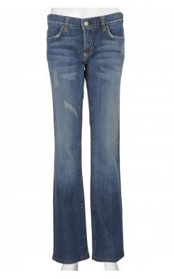 Jeans model drept Bebe, talie joasa, marime 36
