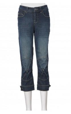 Jeans stretch Mapp, buzunare cu tinte metalice, marime 36