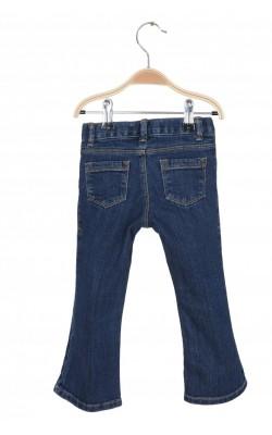 Jeans stretch Old Navy boot-cut, talie ajustabila, 3 ani