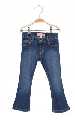 Jeans stretch Old Navy boot-cut, talie ajustabila, 3 ani