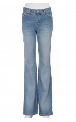 Jeans wide leg Twinlife, talie medie, marime 36