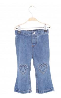 Jeans Wonder Kids, genunchi cu inimoare, 18 luni