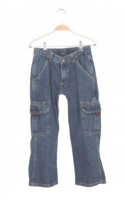 Jeans Wrangler Husky, talie ajustabila, 8 ani