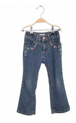 Jeans cu buzunare brodate Xhilaration, 3 ani