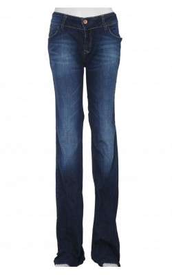 Jeans Zara Premium Wash, bootcut, marime 38