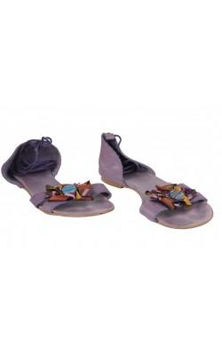 Sandale din piele naturala Les Lolitas, marime 39