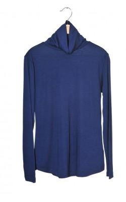 Maleta bleumarin jerseu fin H&M, marime 36