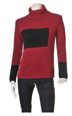 Maleta tricotata Popin, amestec bumbac, marime M