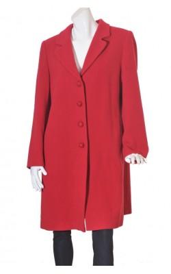 Mantou rosu Carla F., lana, marime XL