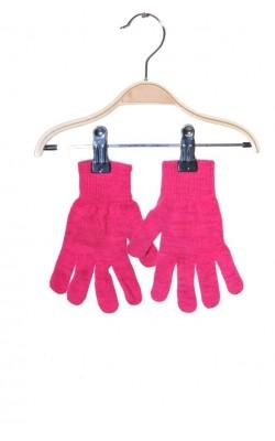 Manusi roz cu fir metalic pentru fete, Cubus, 6-9 ani
