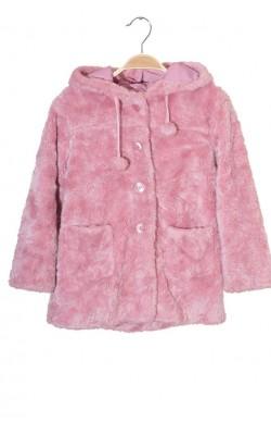 Palton blanita roz Zara, 6-7 ani