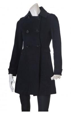 Palton bleumarin dama H&M, marime 36