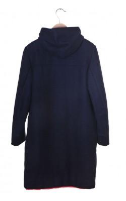 Palton bleumarin lana Harper&Show, 13-14 ani