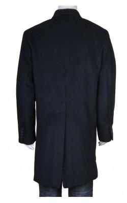 Palton bleumarin din stofa lana Merona, marime M