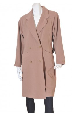 Palton camel Schneiders, lana, marime 42