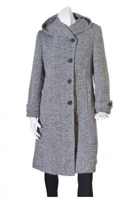 Palton cu gluga Celina Exclusive, marime 42