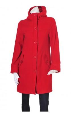 Palton cu gluga H&M, lana, marime 38