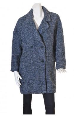 Palton de boucle Softgrey La Redoute, marime 48