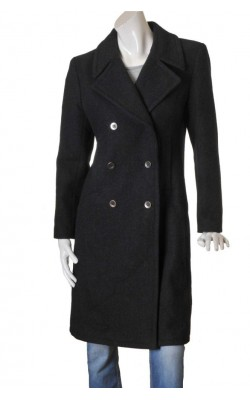 Palton gri calduros H&M L.o.g.g., marime 38