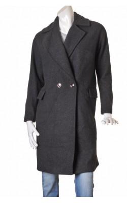 Palton gri H&M, marime 40