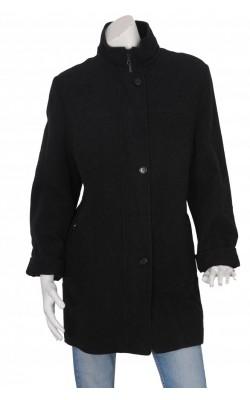 Palton gri matlasat Herluf Design, marime 50