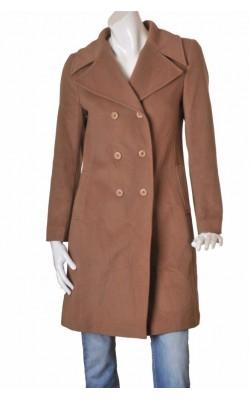 Palton Hennes for H&M, lana si casmir, marime 38