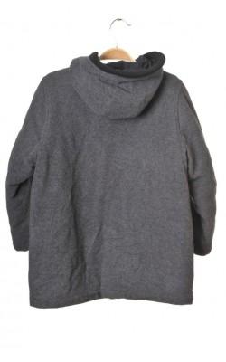 Palton matlasat H&M, tesatura lana, 9-10 ani