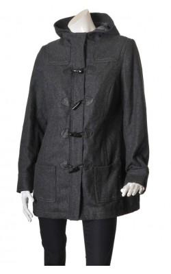 Palton matlasat La Redoute, amestec lana, marime 44