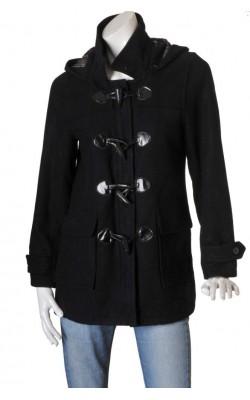 Palton negru Bik Bok, marime M