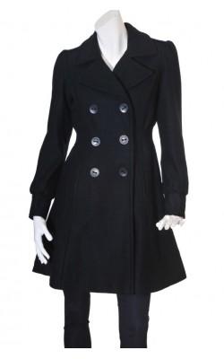 Palton negru Cubus, marime 38