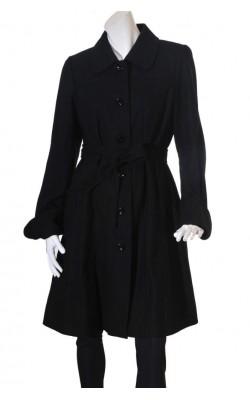 Palton negru Lindex, marime XL