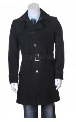 Palton negru Matinique, marime S