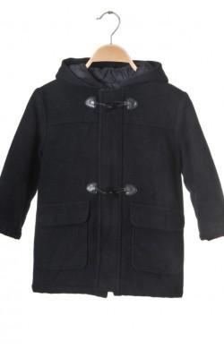 Palton negru matlasat Mayoral, lana, 4 ani