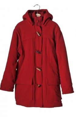 Palton rosu matlasat H&M L.o.g.g., 12 ani