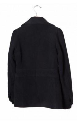 Palton scurt matlasat H&M, lana, 13-14 ani