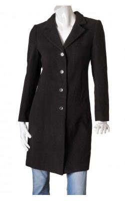 Palton Tara, tesatura lana, marime 38