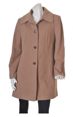 Palton usor din lana si casmir Max K. Meda high tech thermo insulation, marime 46