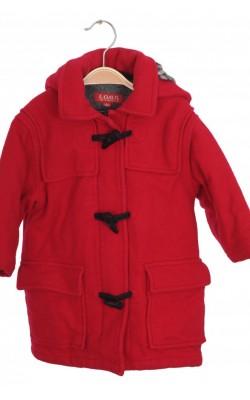 Paltonas vatuit din stofa lana H&M L.O.G.G., 18 luni