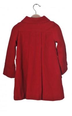 Paltonas rosu Twinkle, lana, 5-6 ani