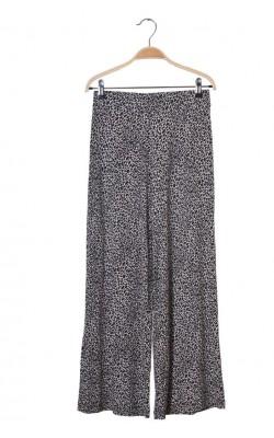 Pantalon culotte Gina Tricot, jerseu animal print, marime S