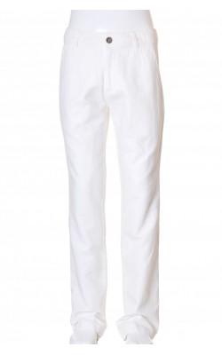 Pantaloni albi Bruuns Bazaar, marime 32