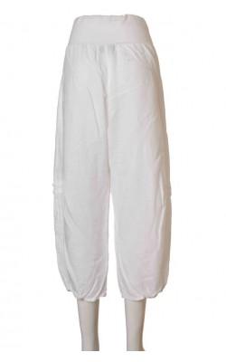 Pantaloni albi de in Kappahl, marime 38